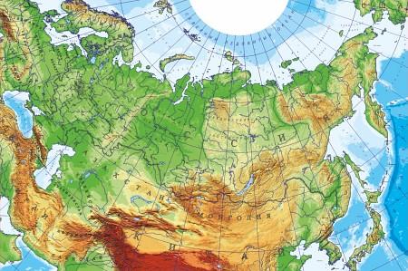 3d карта россии: